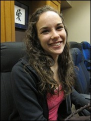 Youth Commissioner Katherine Westomoreland