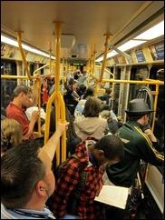 crowded max train