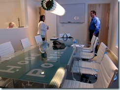 the conference room of Car2go's Pearl District office