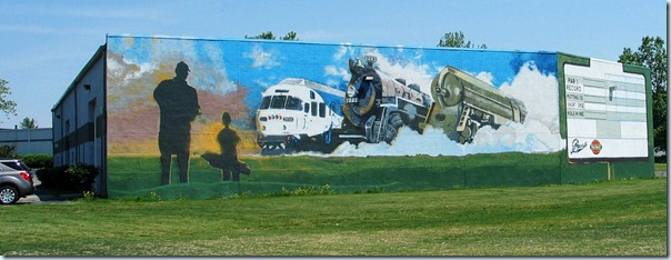 WES mural photo copyright Steve LaConte. Click for a larger version.