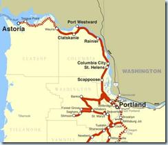 astoria railroad