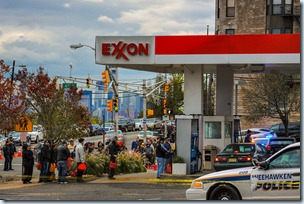 Gasoline shortage in New Jersey in November