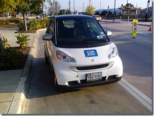 a Car2go in Austin