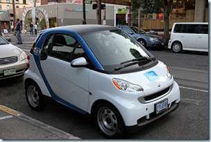 a Car2go in Portland