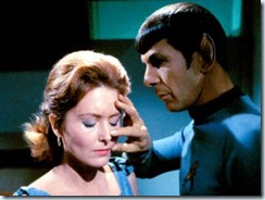 Vulcan mind meld (copyright Paramount Pictures and CBS)